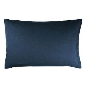 Designers Guild Biella Midnight and Wedgwood Pillowcase