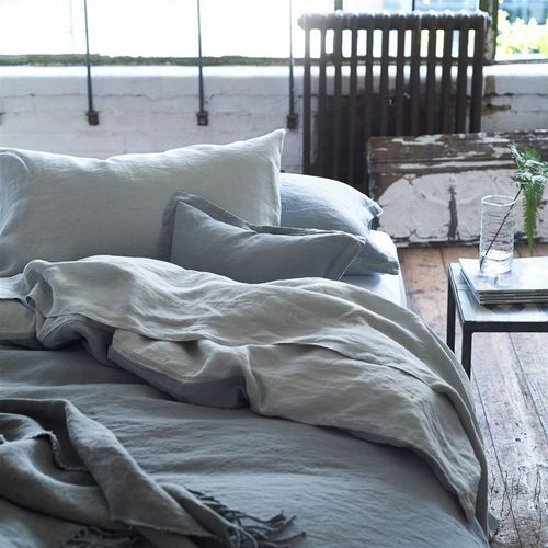 Designers Guild Biella Pale Grey & Dove Bedding