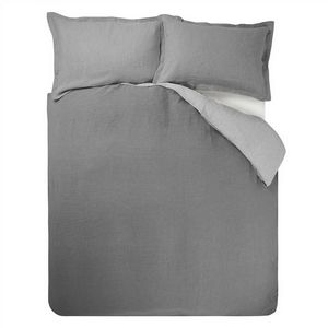 Designers Guild Biella Pale Grey & Dove Duvet Cover