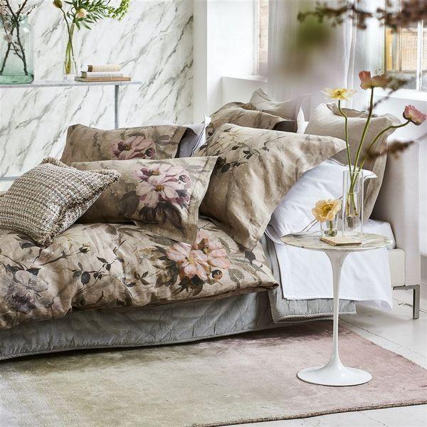 Designers Guild Designers Guild Carrara Fiore Cameo Bedding - View #3.