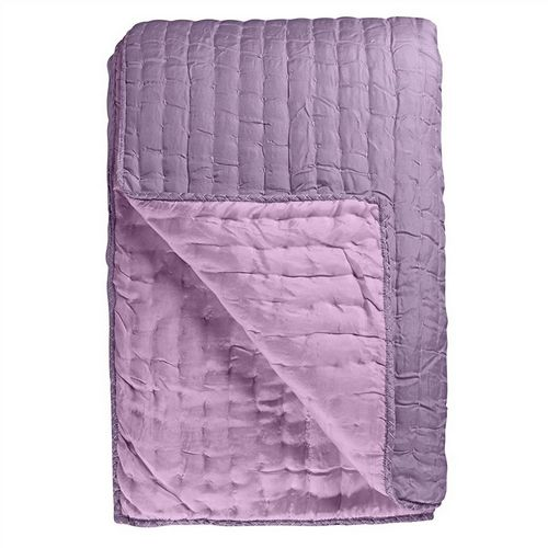 Designers Guild Chenevard Damson & Magenta Quilted Coverlet