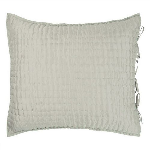 Designers Guild Chenevard Pebble & Duck Egg Quilt Swatch