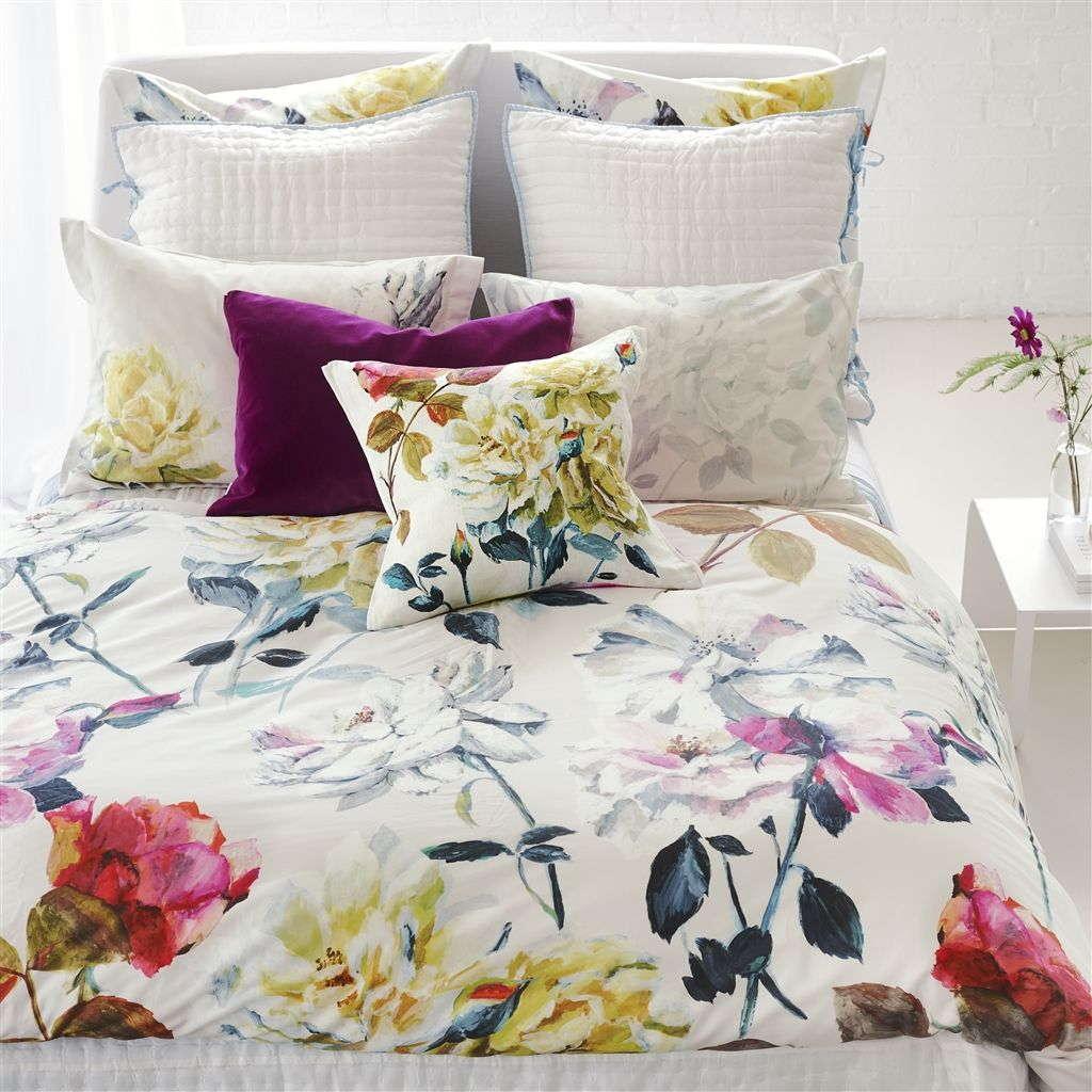 Designers Guild Couture Rose Fuchsia Bedding
