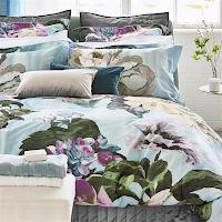 Designers Guild Delft Flower Sky Bed Linen