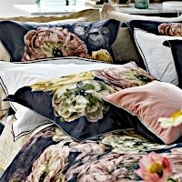 Designers Guild Le Poeme de Fleurs Midnight Bed Linen