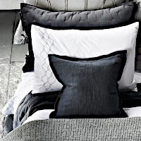 Designers Guild Rabeschi Alabaster Embroidered Sheets & Pillowcase Bedding