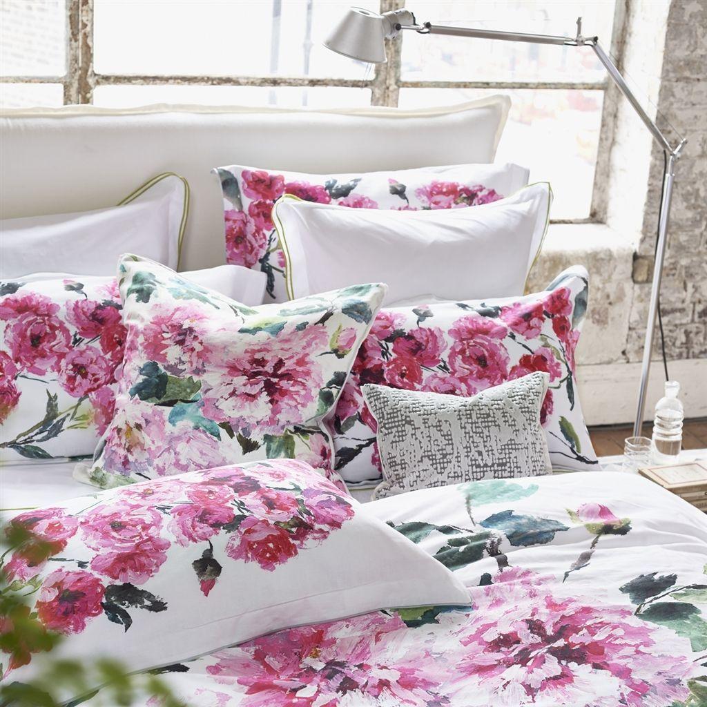 Uuu Designers Guild Shanghai Garden Peony Bedding