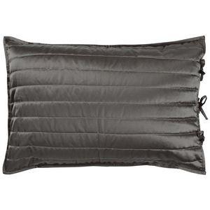 Designers Guild Tiber Slate & Zinc Quilt Swatch