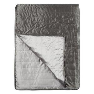 Designers Guild Tiber Slate & Zinc Quilted Coverlet