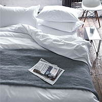 An essential 400 thread count luxury Egyptian cotton percale bedding collection.