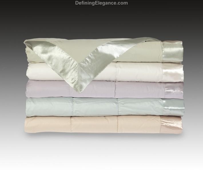 Cotton Down Throw Blanket