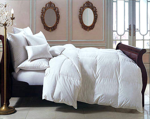 Downright Bernina 650+ Hungarian White Goose Down Comforter & Down Pillow
