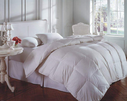 Downright Cascada Peak 600+ White Down Comforter & Pillow