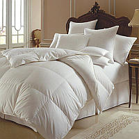 This is the comforter to complement the finest linens, while providing the utmost coziness and comfort.
