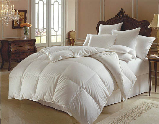 Downright Himalaya 800+ Siberian White Goose Down Comforter & Down Pillow