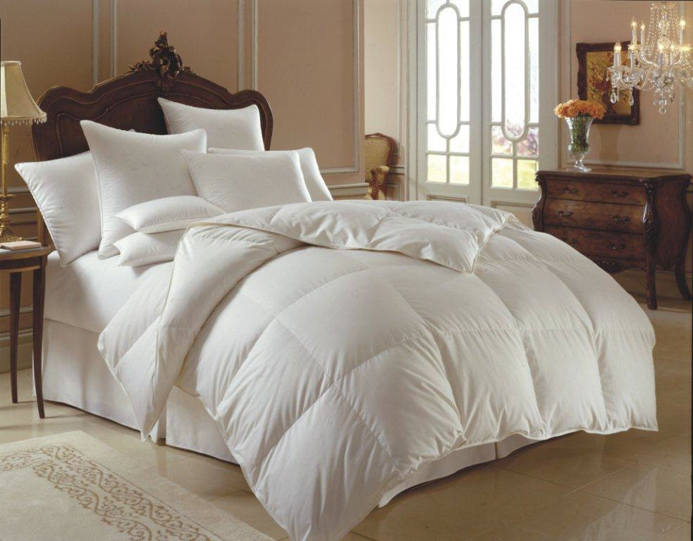 downright himalaya 700 polish white goose down comforter u0026 down pillow - Down Comforter Queen