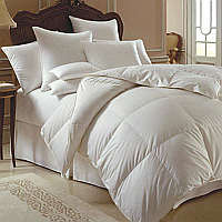Attractively encased in a spectacular 354 thread count sateen tick from Sanders of Germany, makes the Himalaya 700+ comforter both elegant and light.