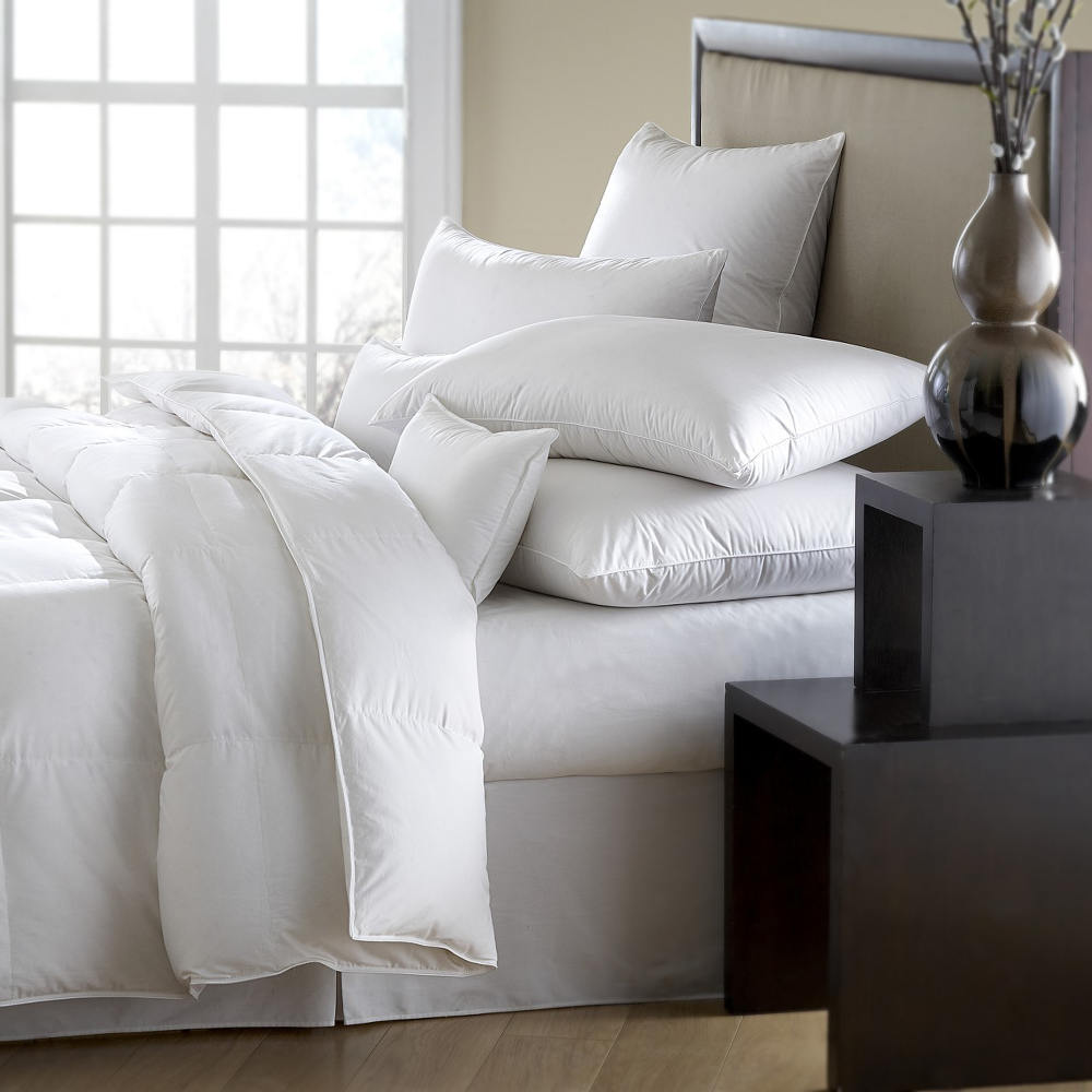 us about itm hotel king down bed goose oversized grey blanket comforter black reversible