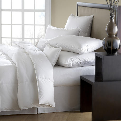 Downright Mackenza 560+ Economical White Down Comforter & Down Pillow