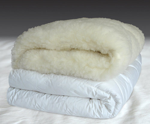 Downright Wool Mattress Pad Comfort and Support