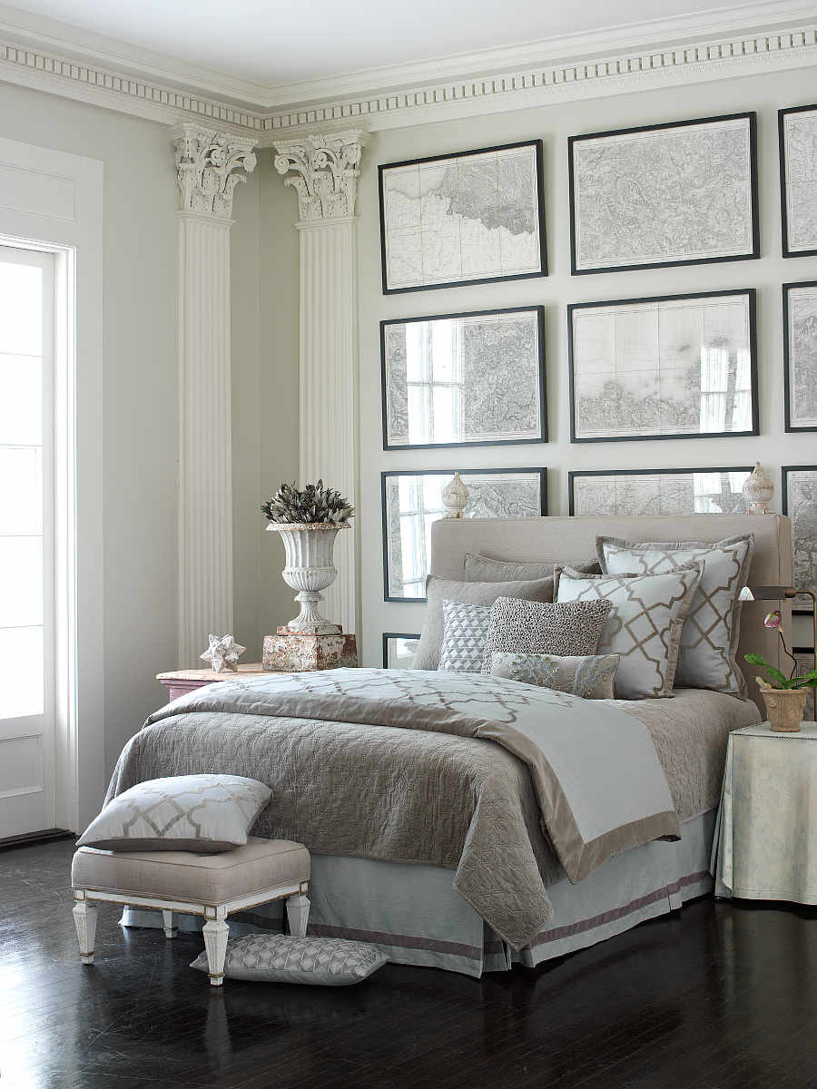 White and Gray Bedroom 900 x 1200