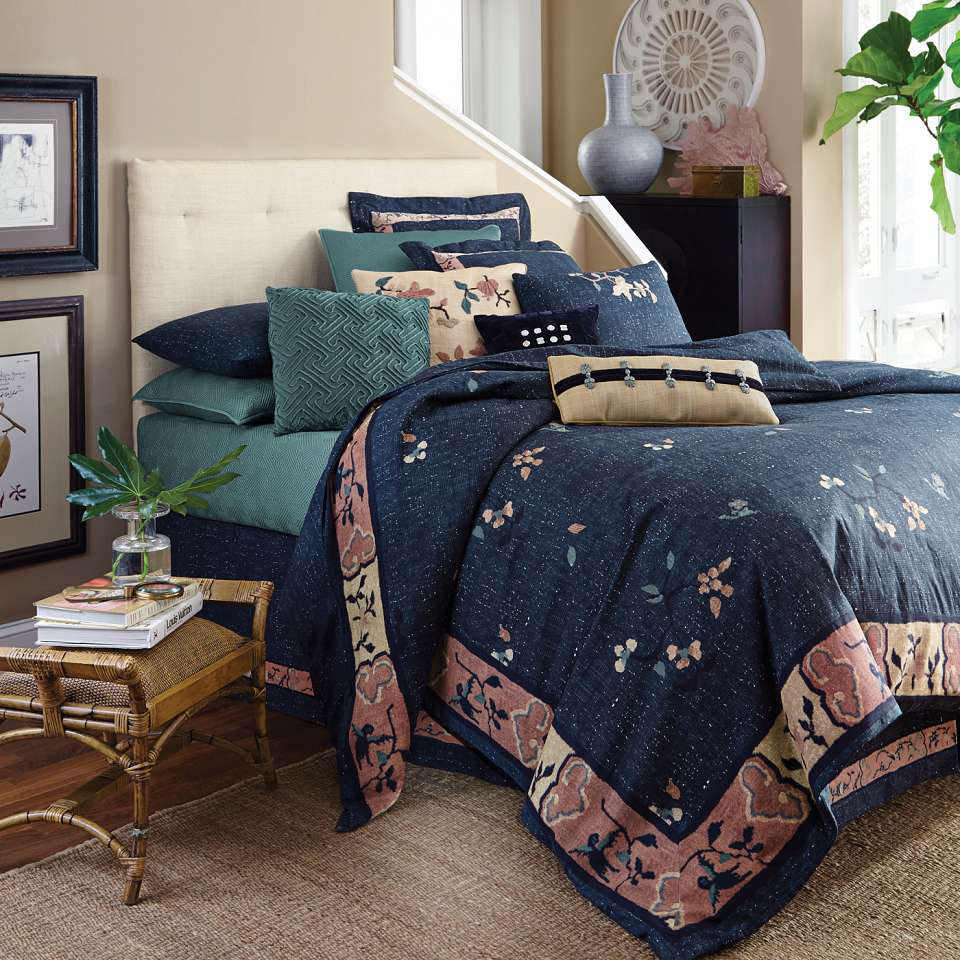 Uuu Dransfield And Ross House Indochine Bedding Collection