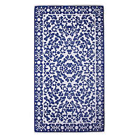 Elaiva-Allurements-Blue-Little-Leaves-Beach-Towel-2054200510_a-thumb
