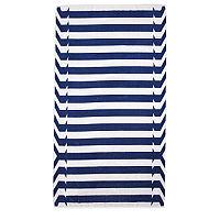 Elaiva Blue Nauticals Stripes Beach Towels