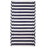 Elaiva Gray Nauticals Stripes Beach Towels