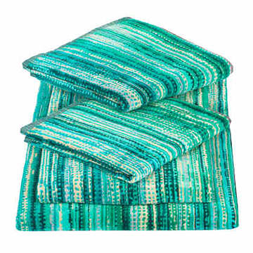 Elaiva Allurements Green Grass Bath Sheet