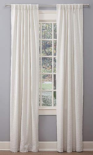 Emdee International Boucle window curtain