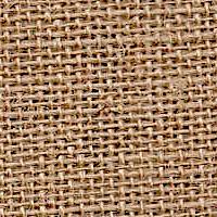 Emdee International Burlap Plain Burlap Drapery Panel
