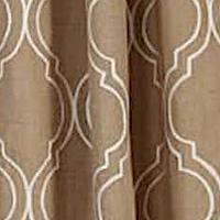 Emdee International Burlap Tile Drapery Panel