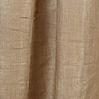 Emdee International Foil Burlap Drapery Panel