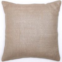 Emdee International Burlap Collection - Button Dec Pillow.