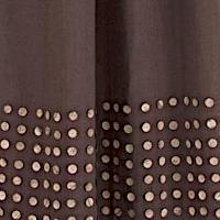 Emdee International Burlap Button Drapery Panel