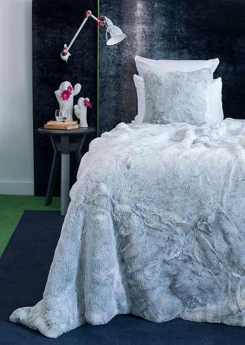 Evelyne Prelonge Aspen Faux Fur Coverlets & Throws & Decorative Pillows