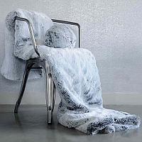 Evelyne Prelonge Glacier Faux Fur Bed Runner Rug