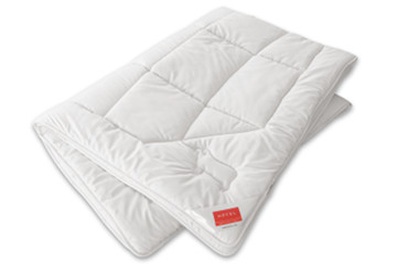 Hefel Bio Wool quilts with a 100% Merino pure new wool filing create a particularly cozy sleeping environment.