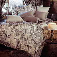 This bedding speaks and displays elegance with a print on Tencel Fabric.