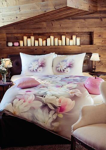 Hefel Trend Bed Linen Evergreen Magnolia Duvet Cover