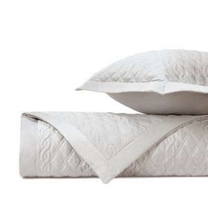 Home Treasures Abbey Quilted Bedding Fabric - Oyster.