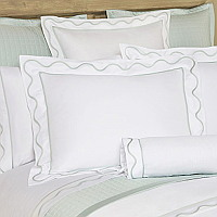 Home Treasures Amalfi - Bound Inset Scallop Bedding Collection