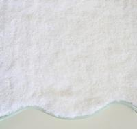 Home Treasures Antalya Bath Towels - Izmir towel, a 550 gram, zero twist, 100% Egyptian cotton, Turkish terry, is finished with a sateen scalloped piping for a playful accent.