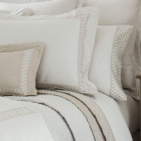 Home Treasures Bedding Ara - A 300 thread count, 100% Egyptian cotton, chambray (special yarn-dye) Italian sateen collection witclass=