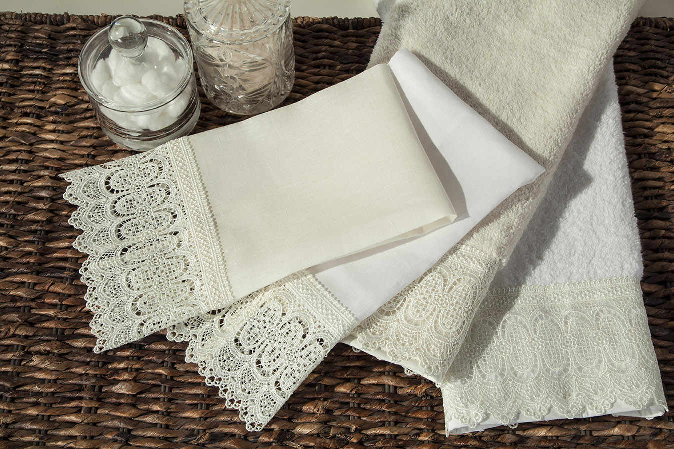 home treasures towels - bonaire guest towel collection