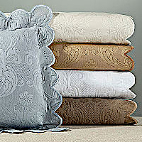 Home Treausures Bedding Chelsea Matelasse - A 100% Egyptian cotton Italian matelasse.