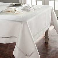 Home Treasures Doric Table Linens - A sophisticated collection that consists of 100% Italian linen and a 100% Egyptian cotton, Iclass=