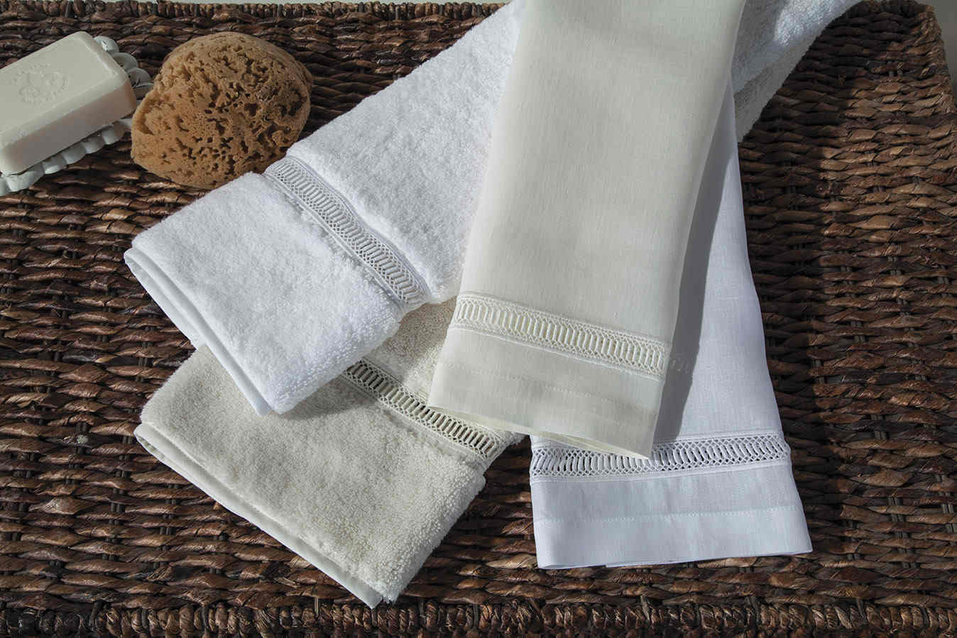 home treasures towels - doric guest towel collection
