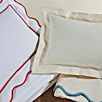 Home Treasures Bedding Honeycomb Pique - A 100% Egyptian cotton, Italian pique.